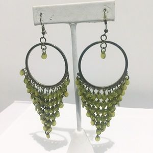 Francesca's Collection Statement dangle earring